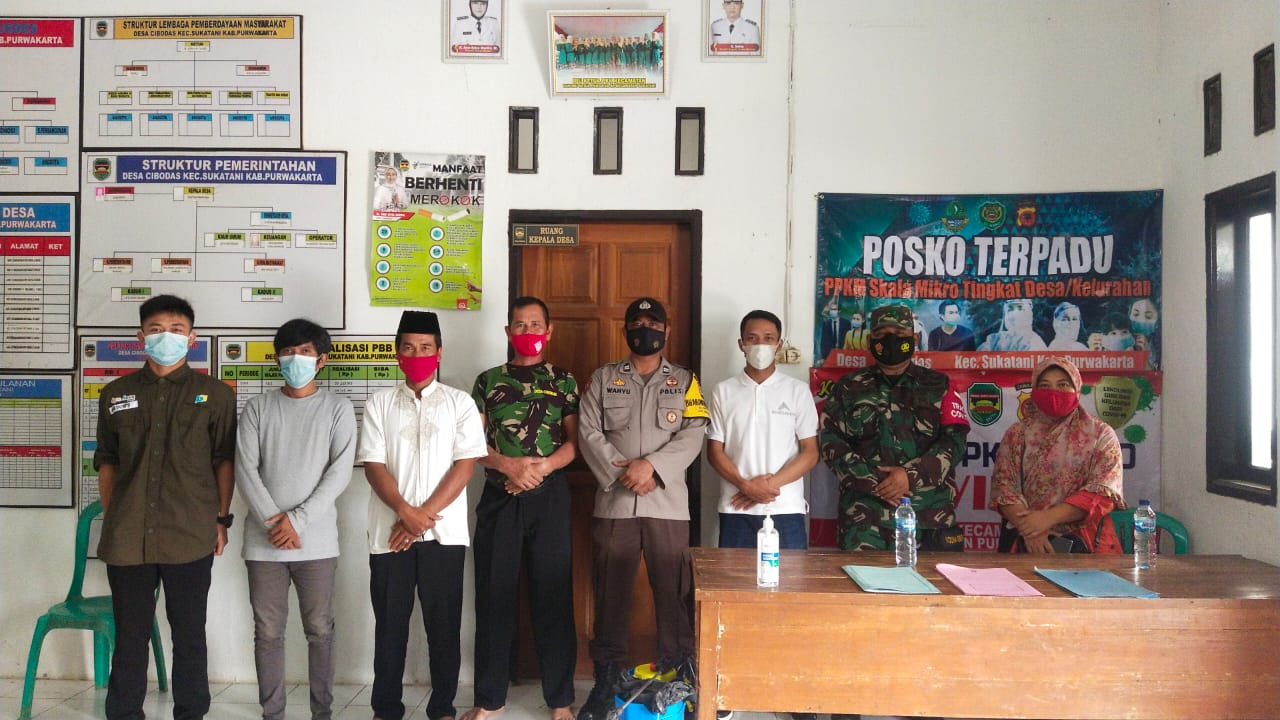 Kegiatan monitoring PPKM Mikro Tingkat Desa/Kelurahan